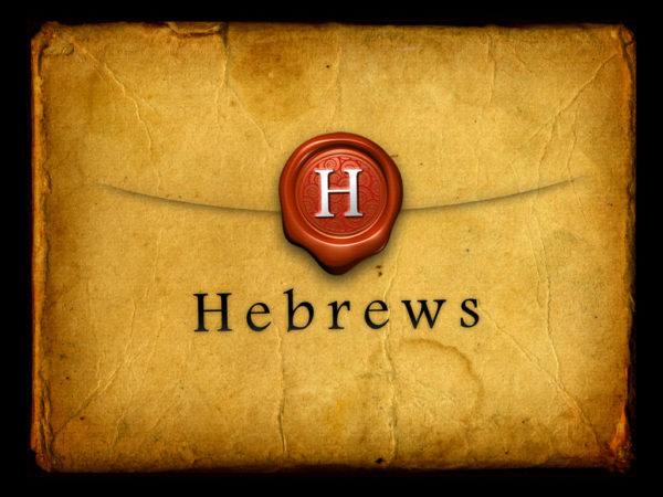 Study of Hebrews Introduction and 1:1-3 - Lesson 1 Image