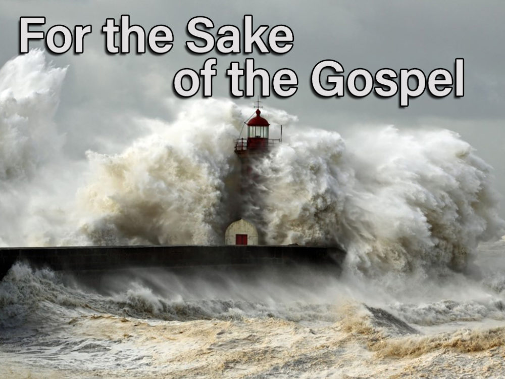For The Sake Of The Gospel Image