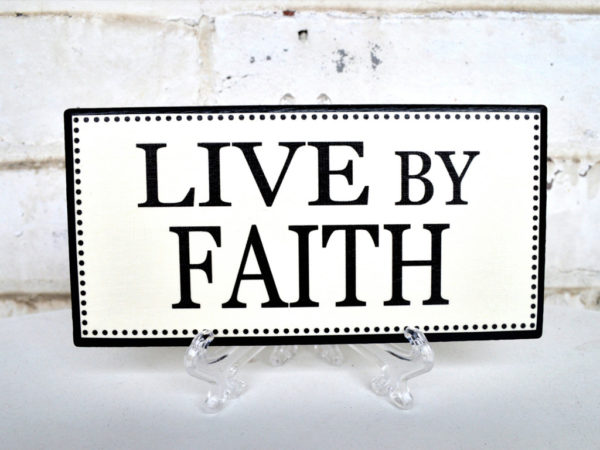 The Just Shall Live By Faith: Part 1 Image