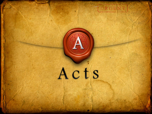 Study Of Acts: Lesson 3 Image