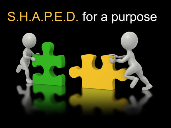 Shaped For A Purpose - Part 3: Speaking Gifts (Main Service) Image