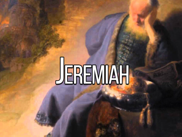 Study of Jeremiah - Lesson 1 (Wednesday) Image
