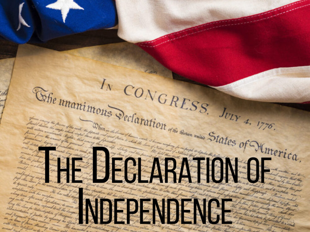 Dan Fisher - Declaration of Independence